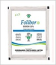 FOLIBOR 1 KG. BORON 20 %(Disodium Octaborate Tetrahydrate). coromandel international ltd.